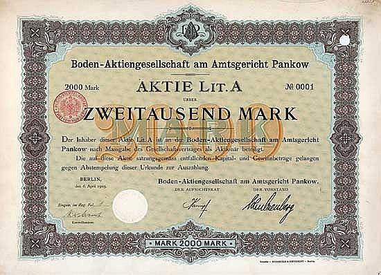 Boden-AG am Amtsgericht Pankow