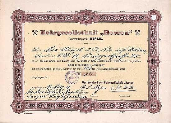 Bohrgesellschaft Hessen
