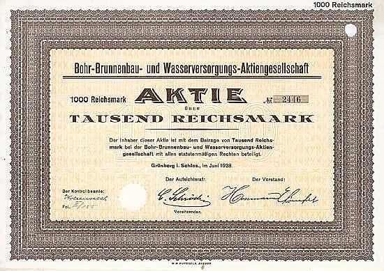 Bohr-Brunnenbau- und Wasserversorgungs-AG