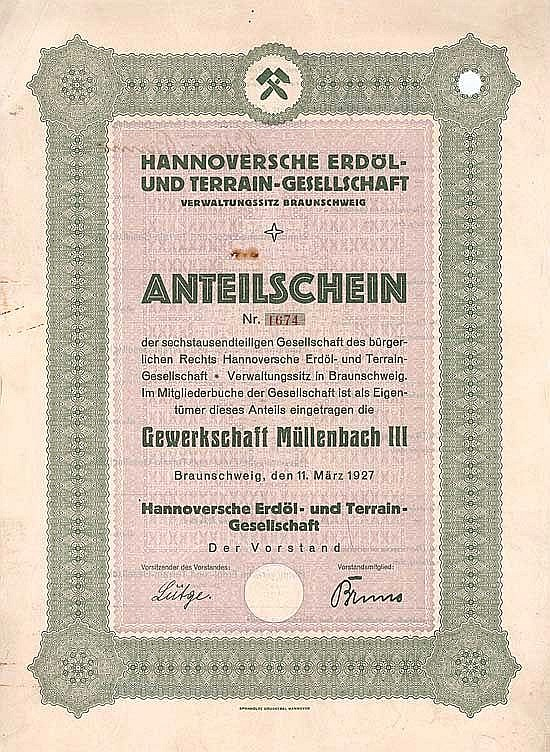 Hannoversche Erdöl- und Terrain-Gesellschaft