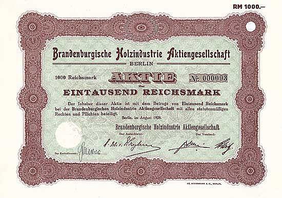 Brandenburgische Holzindustrie AG