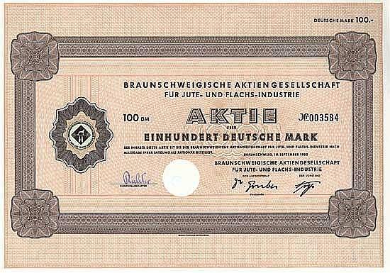 Braunschweigische AG für Jute und Flachs-Industrie