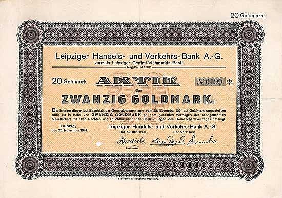 Leipziger Handels- und Verkehrs-Bank AG