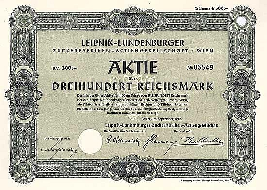Leipnik-Lundenburger Zuckerfabriken-AG