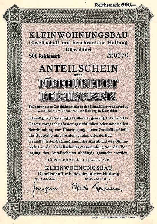 Kleinwohnungsbau GmbH