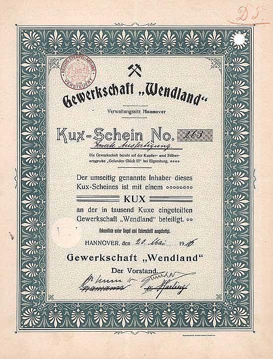 Gewerkschaft Wendland