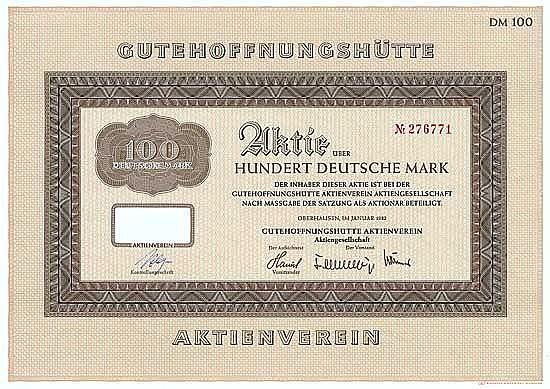 Gutehoffnungshütte Aktienverein AG
