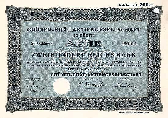 Grüner-Bräu AG