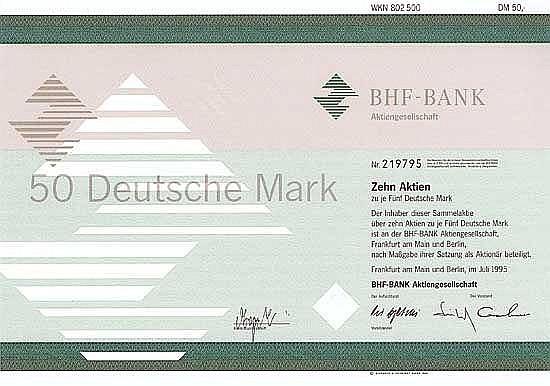BHF-Bank AG