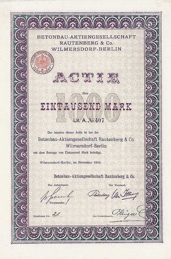 Betonbau-AG Rautenberg & Co.