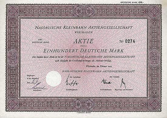 Nassauische Kleinbahn AG