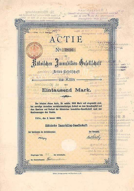 Kölnische Immobilien-Gesellschaft AG