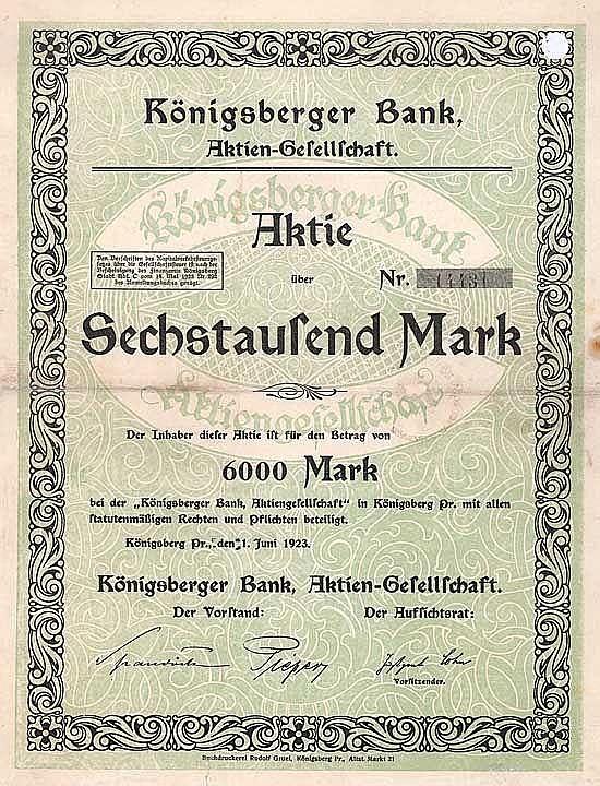 Königsberger Bank AG