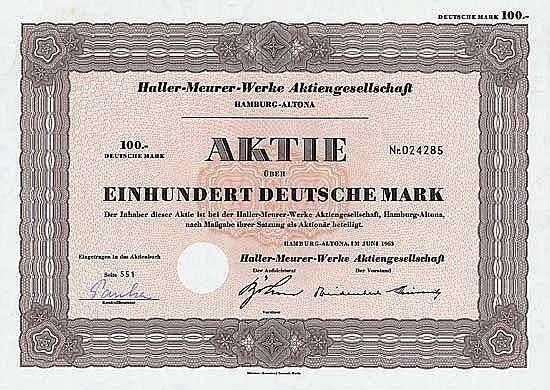 Haller-Meurer-Werke AG