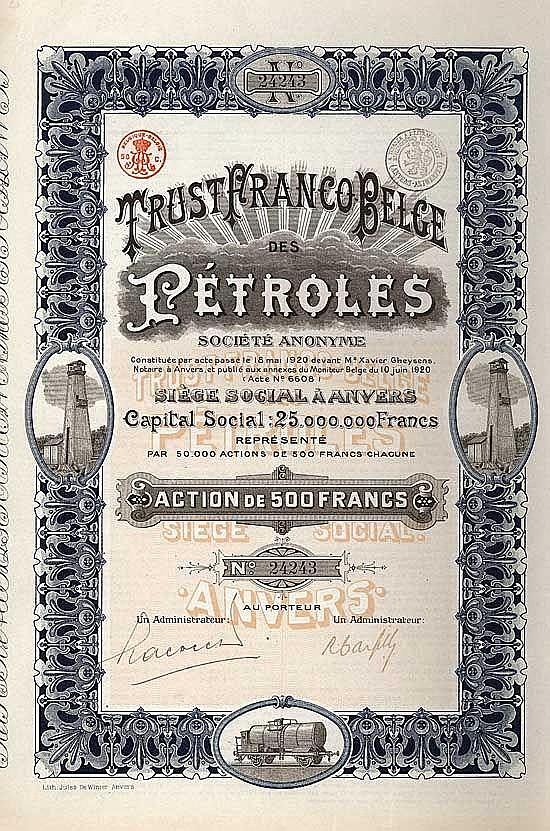 Trust Franco Belge des Pétroles S.A.