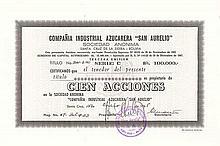 "Cia. Industrial Azucarera ""San Aurelio"" S.A."