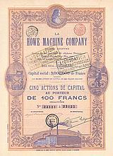 La Howe Machine Co. S.A.