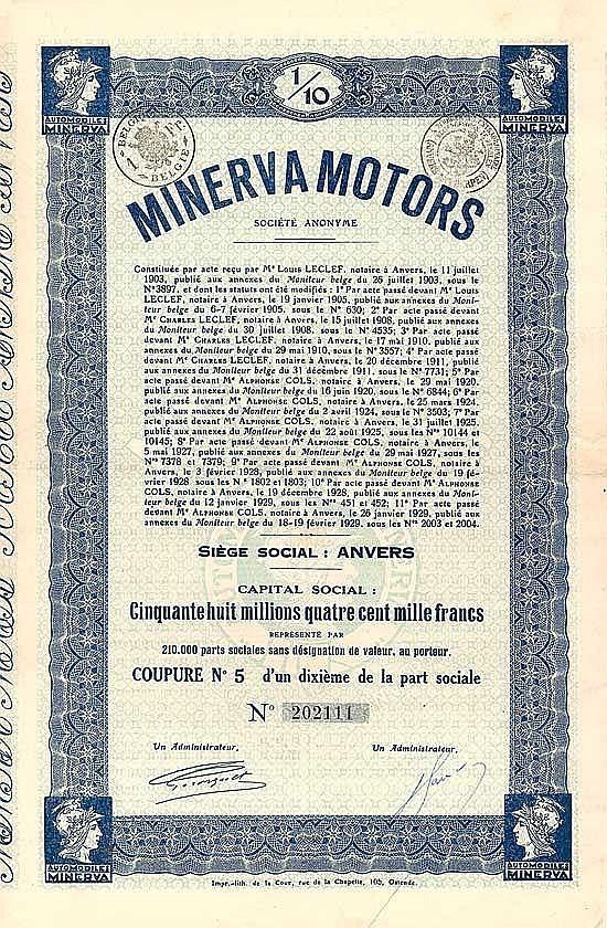 Minerva Motors S.A.