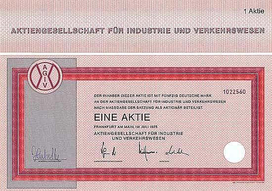 AG für Industrie und Verkehrswesen