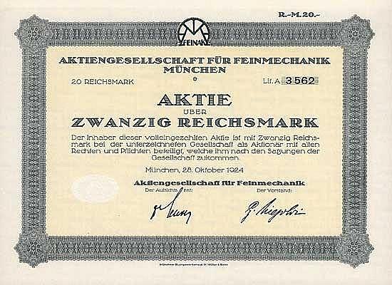 AG für Feinmechanik