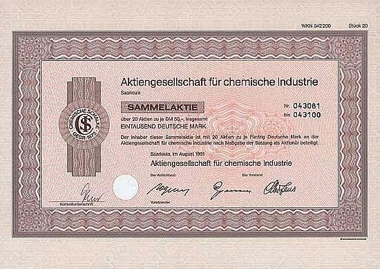 AG für chemische Industrie