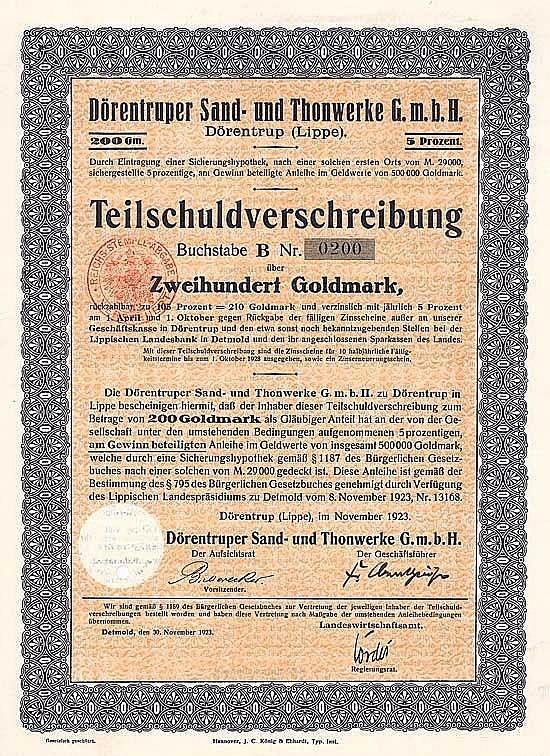 Dörentruper Sand- und Thonwerke GmbH