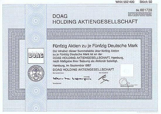 DOAG Holding AG