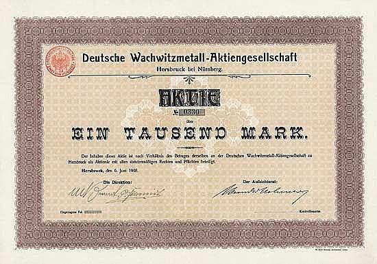 Deutsche Wachwitzmetall-AG