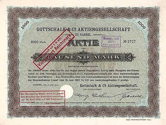 Gottschalk & Co. AG