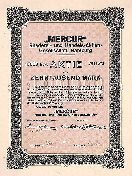 Mercur Rhederei- und Handels-AG