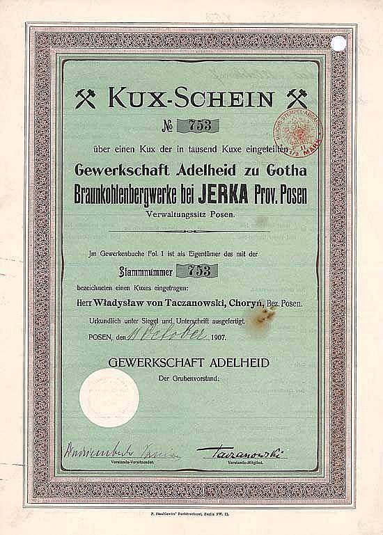 Gewerkschaft Adelheid zu Gotha