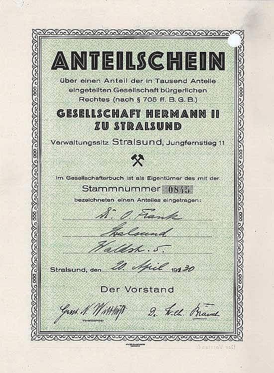 Gesellschaft Hermann II