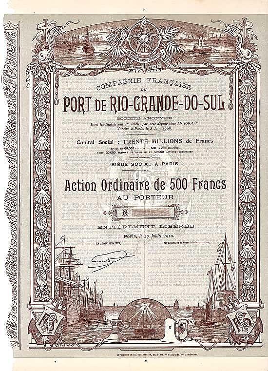 Cie. Franç. du Port de Rio-Grande-do-Sul S.A.