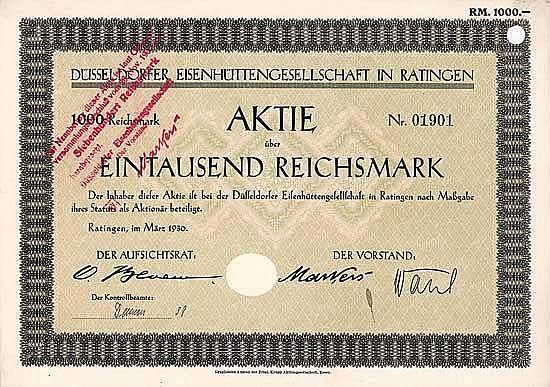 Düsseldorfer Eisenhüttengesellschaft