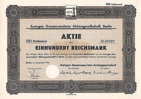 Autogen Gasaccumulator AG
