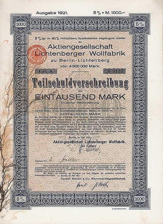 AG Lichtenberger Wollfabrik