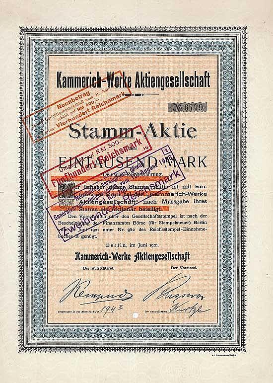 Kammerich-Werke AG