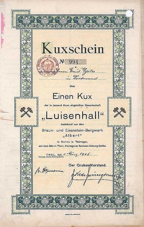 Gewerkschaft Luisenhall