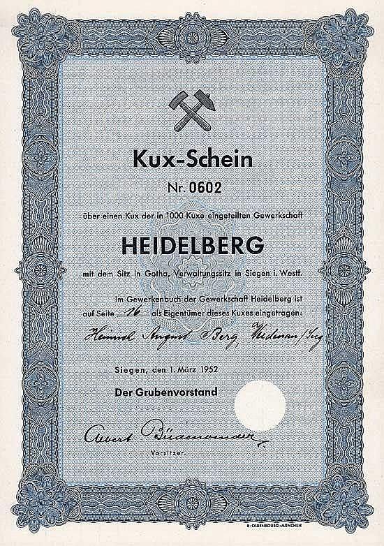 Gewerkschaft Heidelberg