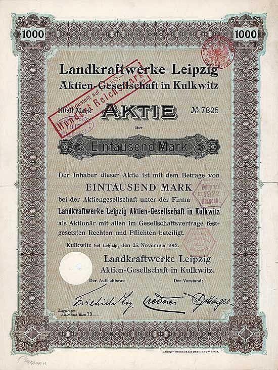Landkraftwerke Leipzig AG