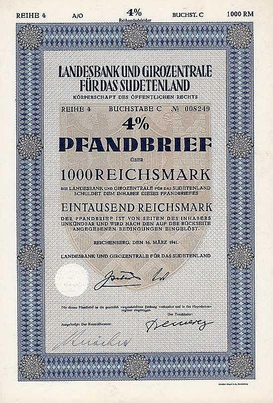 Landesbank und Girozentrale für das Sudetenland