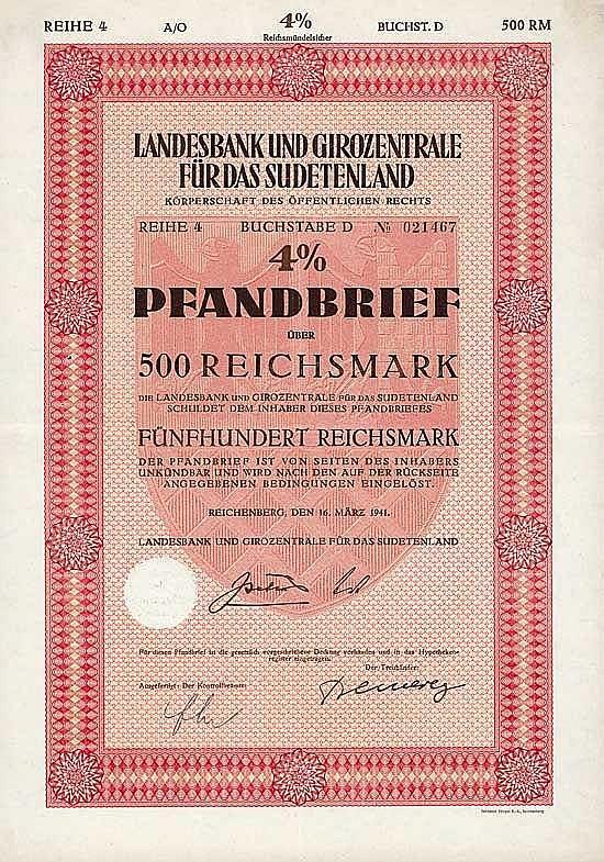 Landesbank und Girozentrale für Sudetenland