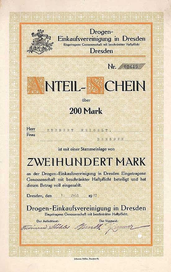 Drogen-Einkaufsvereinigung in Dresden eGmbH