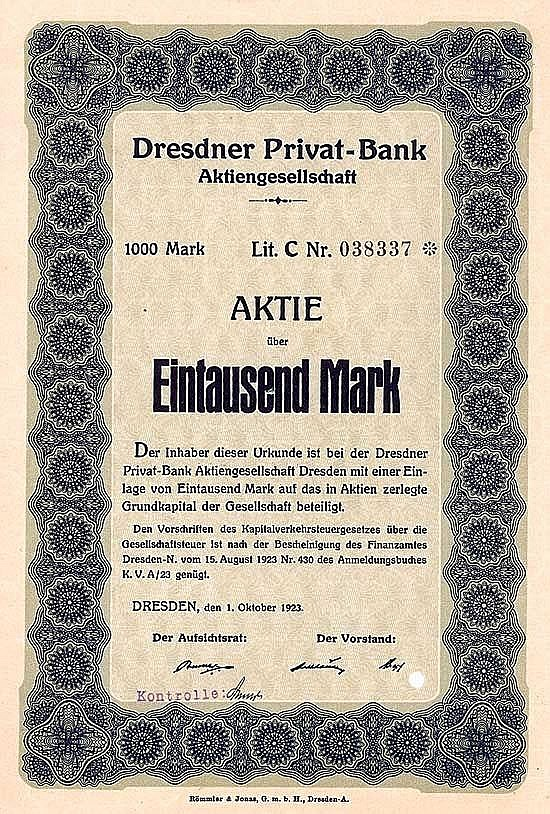 Dresdner Privat-Bank AG