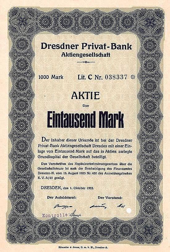 Dresdner Privat-Bank AG