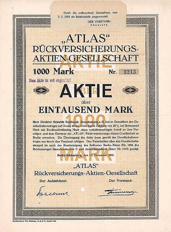 Atlas Rückversicherungs-AG