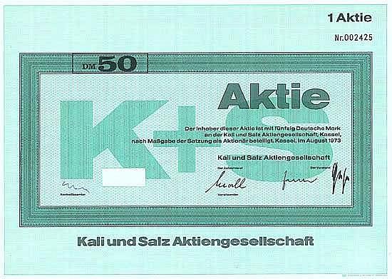 Kali und Salz AG