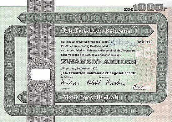 Joh. Friedrich Behrens AG