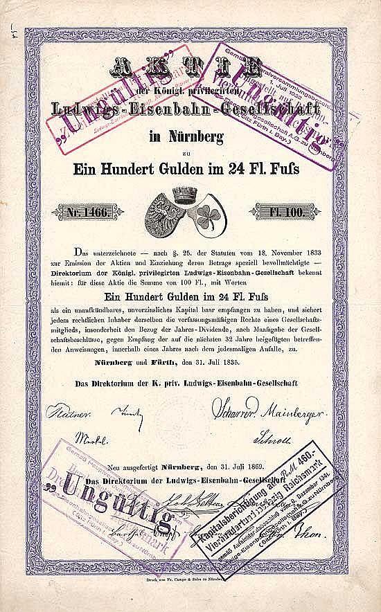 K. priv. Ludwigs-Eisenbahn-Gesellschaft