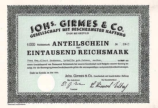 Johs. Girmes & Co. GmbH